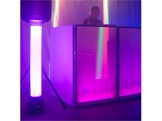 American DJ Magna Tube - 1m langes Kunststoffrohr mit magnetischen Adapter