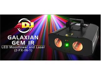 ADJ Galaxian Gem IR - American DJ RGBW LED Moonflower + Laser
