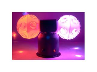 ADJ Jelly Cosmos Ball, doubleball effekt, 6x 3Watt RGB LEDs