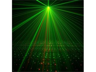 ADJ Micro Galaxian II Laser, Rot-Grün