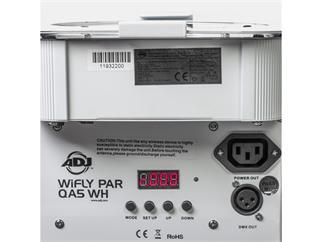 American DJWiFly PAR QA5 WH Akku/Netzbetrieb