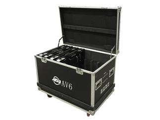 ADJ AV6FC 8pcs Flight Case, Flight Case für 8 Panels ADJ AV6