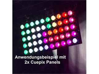 Elation Pro Cuepix Panel, 25 X 30W COB RGB LED Matrix Panel