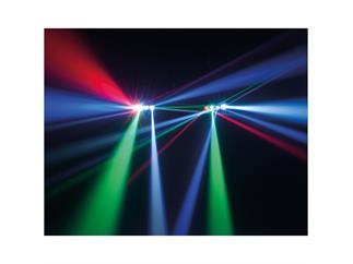 American DJ Zipper 4x8W RGBW LED Walzenspiegel-Scanner