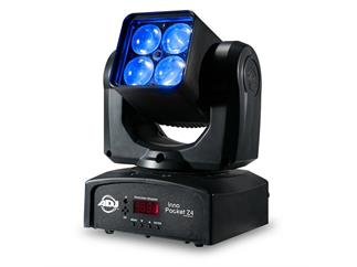 ADJ Inno Pocket Z4 - Mini-ZOOM Movinghead 4 x 10W RGBW LED