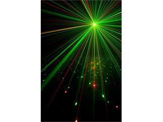 ADJ Stinger II American DJ 3in1 Effekt Moonflower, Strobe und RG Laser