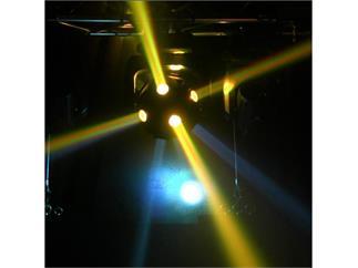 American DJ Asteroid 1200 Kugeleffekt mit 12 x 15W RGBW LED