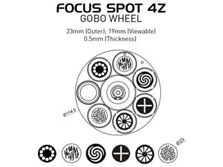 ADJ Focus Spot 4Z 4er Set inkl. Case