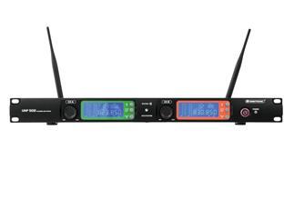 OMNITRONIC UHF-502 2-Kanal-Funkmikrofonsystem