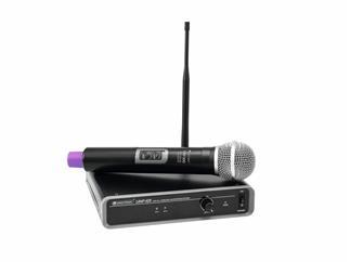 OMNITRONIC UHF-101 Funkmikrofon-System 863.1MHz