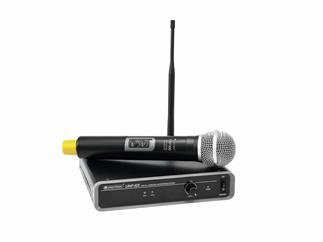 OMNITRONIC UHF-101 Funkmikrofon-System 825.3 MHz