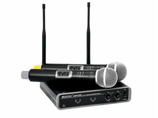 OMNITRONIC UHF-102 Funkmikrofon-System 825.3/864.1 MHz