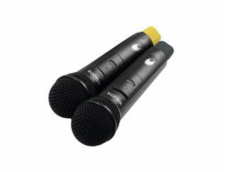Omnitronic WM-224 2-Kanal-Funkmikrofonsystem 2.4 GHz