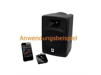 OMNITRONIC WR-1BT Bluetooth Empfänger NFC - Adapter Bluetooth auf Klinke