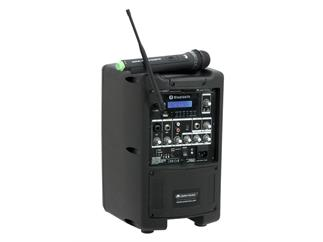 OMNITRONIC WAMS-08BT Drahtlos-PA-System ohne Akku
