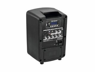 Omnitronic Set WAMS-065BT + Akku