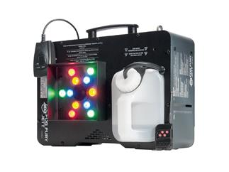 ADJ Fog Fury Jett 650W Nebelmaschine mit 12x3W LED inkl. 5L CO2 Fluid