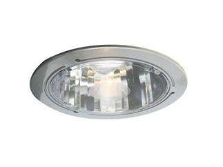 Einbaudownlight 2x26W silber inkl Leuchtm+Vorschg