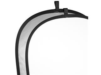 walimex Faltreflektor silber/weiß, 102x168cm