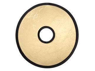 walimex Objektivreflektor silber/gold, Ø30cm