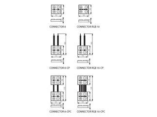 KANLUX CONNECTOR 8-CPC - 20 Stück