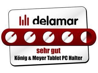 König & Meyer 19740 Tablet PC Halter - schwarz