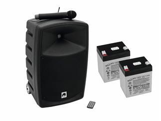 Omnitronic Set WAMS-10BT1 + 2x Akkus