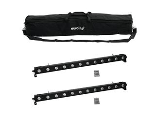 EUROLITE Set 2x LED BAR-1250 RGB+UV + Case