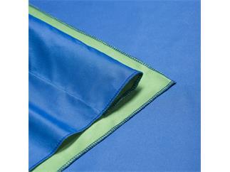 walimex pro 2in1 Stoffhintergrund 2,85x6m, Blau/Gr