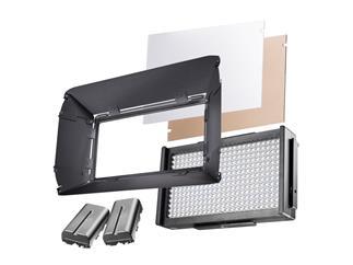 walimex pro LED Foto Video Square 312 Daylight Set