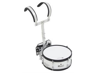 DIMAVERY MS-200 Marsch-Snare, weiß Professionelle Marschtrommel