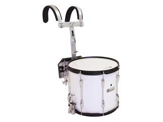 DIMAVERY MS-300 Marsch-Snare, weiß Professionelle Marschtrommel