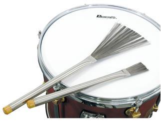DIMAVERY DJB-2 Jazz Brushes, ausziehbar