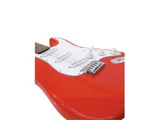 DIMAVERY ST-203 E-Gitarre rot