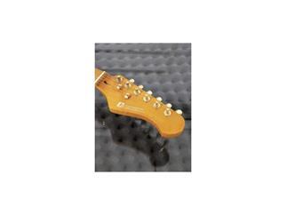DIMAVERY ST-303 E-Gitarre, amber
