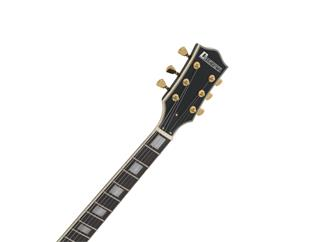 DIMAVERY LP-530 E-Gitarre, schwarz/gold