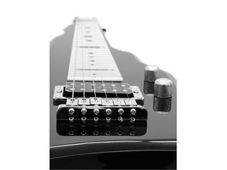 DIMAVERY LSG-100 Lap Steel Gitarre schwarz