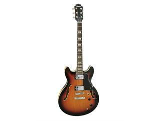 DIMAVERY SA-610 Jazz-Gitarre, sunburst