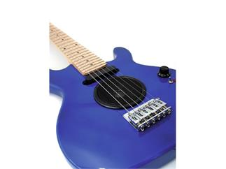 DIMAVERY J-200 E-Gitarre, blau
