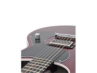 JOZSI LAK ROCKER schwarz/rot Gitarre