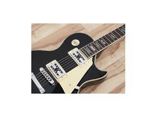 DIMAVERY LP-700 E-Gitarre, schwarz