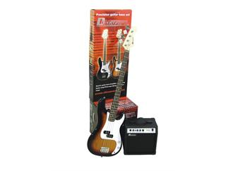 DIMAVERY BGS-10 E-Bass-Set, sunburst