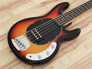 DIMAVERY MM-505 E-Bass, 5-saitig, sunburst