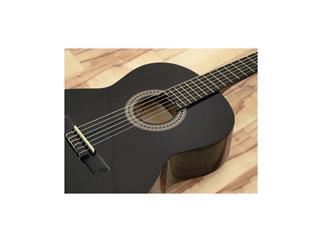 DIMAVERY AC-E300 Klassik-Gitarre, schwarz