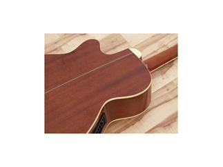 DIMAVERY JK-303E Western-Cutaway-Gitarre, natur