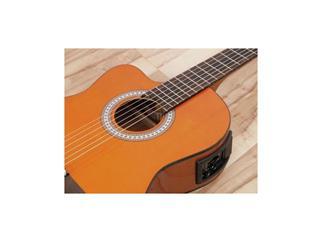 DIMAVERY CN-500L Klassik-Gitarre, natur für LINKSHÄNDER