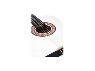 DIMAVERY AC-303 Klassik-Gitarre, weiß