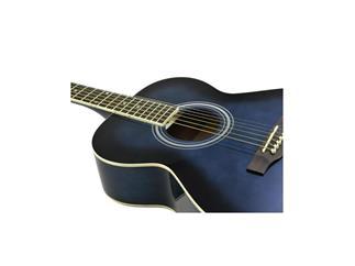DIMAVERY AW-303 Western-Gitarre, blueburs