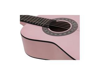 DIMAVERY AC-303 Klassik-Gitarre 1/2, pink