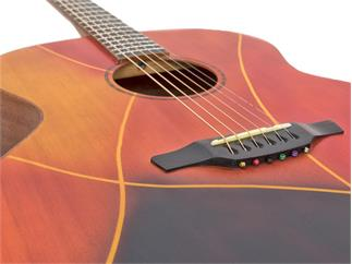 DIMAVERY PWS-42JL Western-Gitarre massiv limited